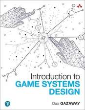 Introduction to Game Systems Design