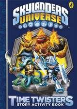 Skylanders: Time Twisters Story Activity Book