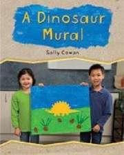 A Dinosaur Mural PM Stars Green Families
