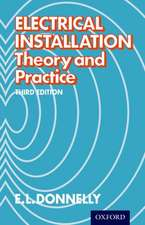 Electrical Installation - Theory and Practice Third Edition