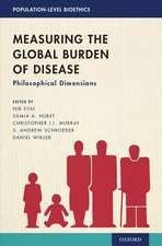 Measuring the Global Burden of Disease: Philosophical Dimensions