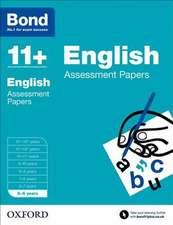 Bond 11+: English: Assessment Papers: 5-6 years