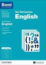 Bond: English: No Nonsense: 10-11+ years