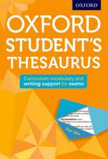 Oxford Student's Thesaurus