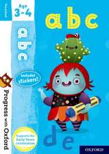 Progress with Oxford: abc Age 3-4