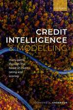 Credit Intelligence and Modelling