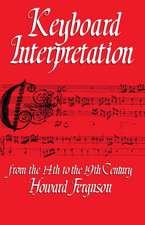Keyboard Interpretation:  A Manual for Students