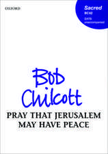 Pray that Jerusalem may have peace