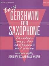 Easy Gershwin for Saxophone