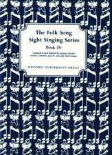 Folk Song Sight Singing Book 4