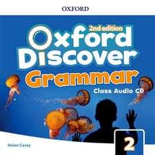 Oxford Discover: Level 2: Grammar Class Audio CDs