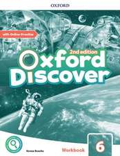 Oxford Discover: Level 6: Workbook with Online Practice