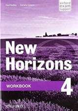 New Horizons: 4: Workbook