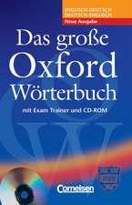 Das Grosse Oxford Worterbuch Book, CD & Trainer Pack