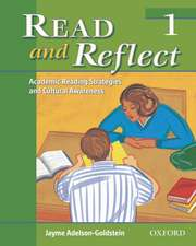 Read and Reflect 1: Academic Reading Strategies and Cultural Awareness