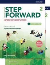 Step Forward: Level 2: Student Book/Workbook Pack with Online Practice