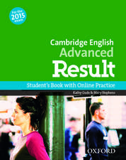 Cambridge English: Advanced Result: Student's Book and Online Practice Pack