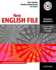New English File: Elementary: MultiPACK B: Six-level general English course for adults