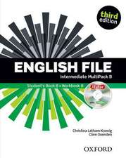 English File third edition: Intermediate: MultiPACK B: The best way to get your students talking
