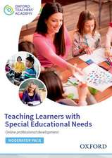 Teaching Learners with Special Educational Needs Moderator Code Card