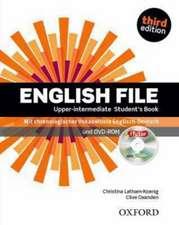 Oxenden, C: English File/Upper Intermed./Stud. Bk. & iTutor