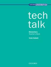 Tech Talk Elementary: Teacher's Book