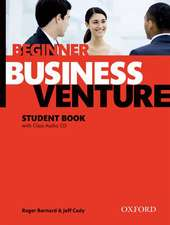 Business Venture: Beginner: Student's Book Pack (Student's Book + CD)