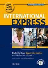 International Express: Upper-Intermediate: Student's Pack: (Student's Book, Pocket Book & DVD)