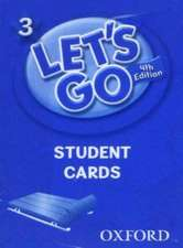 Let's Go: 3: Student Cards