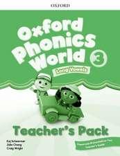 Oxford Phonics World: Level 3: Teacher's Pack with Classroom Presentation Tool 3