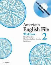 American English File Level 2: Workbook with Multi-ROM Pack