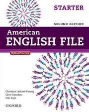 American English File: Starter: Student Book