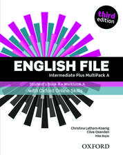 English File: Intermediate Plus: Student's Book/Workbook MultiPack A with Oxford Online Skills