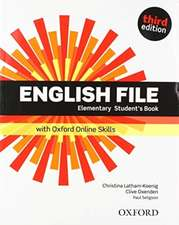 English File: Elementary: Student's Book with Oxford Online Skills