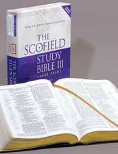Scofield® Study Bible III, Large Print, NIV