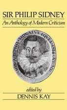 Sir Philip Sidney:  An Anthology of Modern Criticism