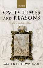 Ovid: Times and Reasons: A New Translation of Fasti