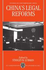 China's Legal Reforms