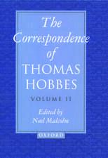 The Correspondence of Thomas Hobbes: Volume II: 1660-1679