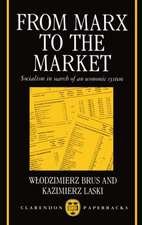 From Marx to the Market: Socialism in Search of an Economic System