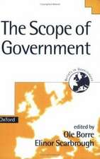 The Scope of Government