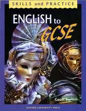 English to GCSE
