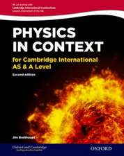 Physics in Context for Cambridge International AS & A Level 2nd Edition: Print Student Book