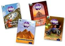 Project X CODE Extra: Purple Book Band, Oxford Level 8: Wonders of the World and Pyramid Peril, Mixed Pack of 4