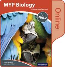 MYP Biology: a Concept Based Approach: Online Student Book