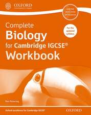 Complete Biology for Cambridge IGCSE® Workbook: Third Edition