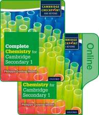 Complete Chemistry for Cambridge Lower Secondary: Print and Online Student Book (First Edition)