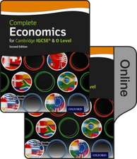 Complete Economics for Cambridge IGCSE and O Level (second edition): Print & Online Student Book Pack
