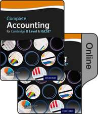 Complete Accounting for Cambridge O Level & IGCSE: Print & Online Student Pack