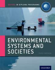 Ib Environmental Systems & Societies:  Oxford Ib Diploma Program